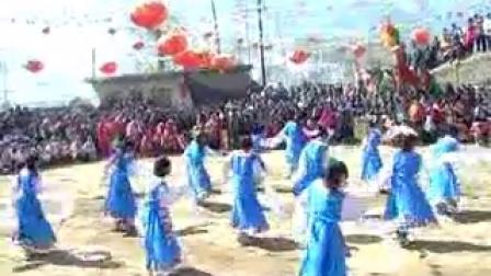 2013青海省民和县满坪镇山庄村文艺演出