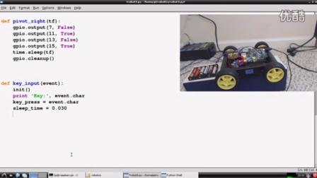 Raspberry pi with Python for Robotics 7 - Adding User Control (1080p)