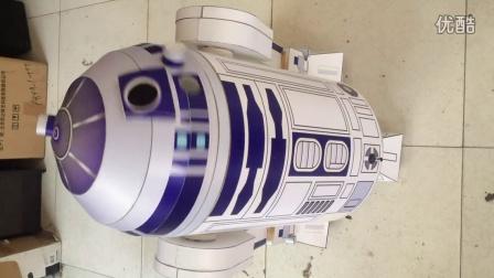 DIY星球大战R2D2机器人语音控制