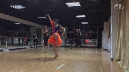 河南省星之海拉丁舞伦巴模拟比赛星之海舞蹈