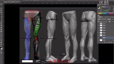 2015-02-09腿部结构作业讲评