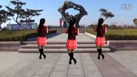 最新吕芳广场舞《真心爱你》及分解动作