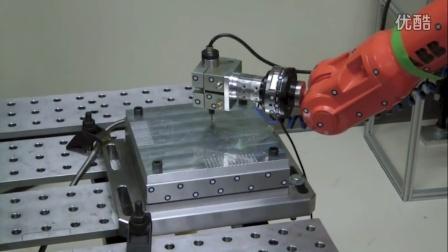 铝与IRB 1600工业机器人加工
