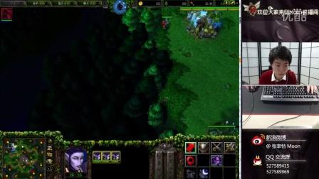 魔兽争霸3 Moon第一视角 细腻的操作 NE VS UD