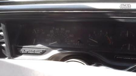 第一代别克林荫大道V6 3.8L发动机浑厚的声音