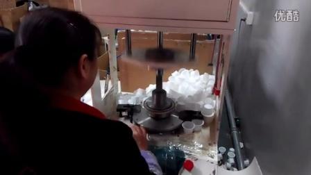 欧式蛋糕纸托花边杯生产现场
