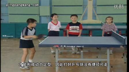 《乒乓球教学第六课》学习直横拍正手攻球基本动作要领