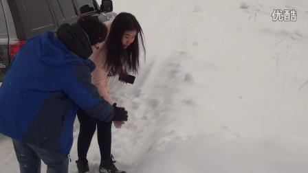 纳兰小宝:小鱼儿带盲人李艳体验围场坝上冰雪世界