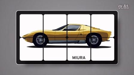 兰博基尼Miura于1966年日内瓦车展惊艳亮相,谱写超跑传奇!