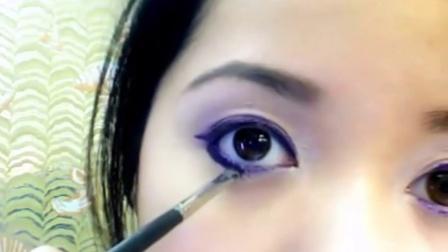化妆教学 万圣节化妆图片 丑女大变身