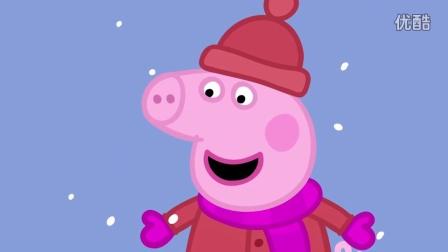 Peppa Pig Builds A Snowman
