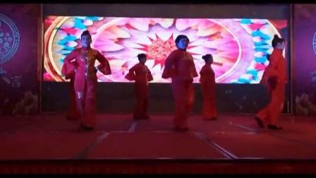 三明市天缘酒店2015年年庆晚会 广场舞:红月亮