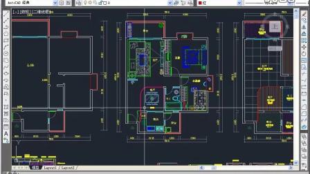 室内装修施工图纸室内设计培训_1