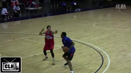 High School Junior vs NBA All Star at 2013 NBPA Camp