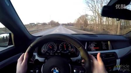 体验宝马M5高速驾驶
