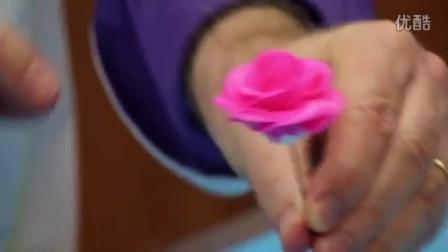 奶油霜玫瑰裱花