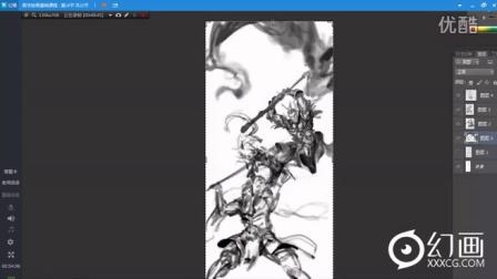 【幻画CG】NAN《数字绘画基础教程》第十八节(2016.03.01)速涂演示