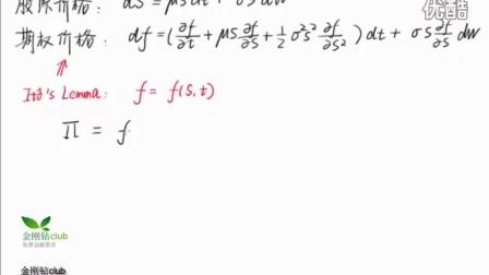 Black-Scholes公式推导 - 1