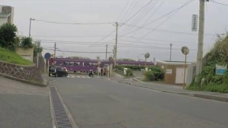 日本-神奈川県江ノ島の江ノ電2015.09.06
