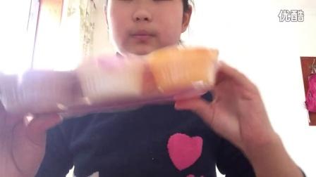 品鉴零食糖果布丁家蓝莓麻薯