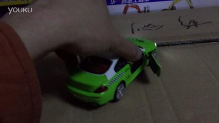 贝乐迪合金车模玩具店宝马m6的士
