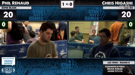 SCGAZ - 2012 - Legacy - Round 8 - Phil Renaud vs Chris Higashi