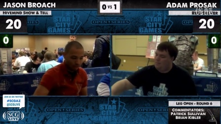 SCGAZ - 2012 - Legacy - Round 6 - Adam Prosak vs Jason Broach