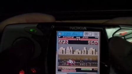 诺基亚N-Gage GB模拟器玩拳皇之《丧心病狂的大门五郎》