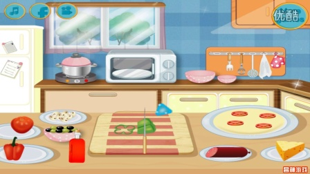 芭比公主动画片大全中文版 芭比制作美味披萨 芭比之梦想豪宅 芭比娃娃