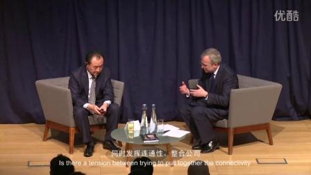 """万达集团董事长王健林在牛津大学解密""""万达国际化"""""""