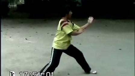 12岁小女孩陈氏太极拳,发劲刚猛