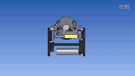 Electric rotary actuator - Gimatic MRE - Attuatori rotanti elettrici