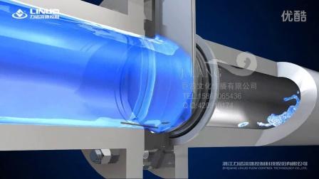 浙江温州上海工业动画公司-力诺-阀门3D动画-刀闸阀动画-巨浪文化