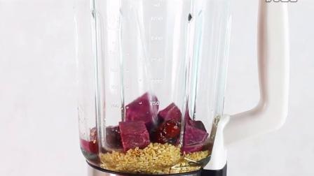 宝宝辅食食谱 JESE洁氏破壁机做紫薯米糊
