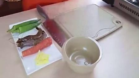 宝宝餐餐见 秋葵鲜虾小米粥