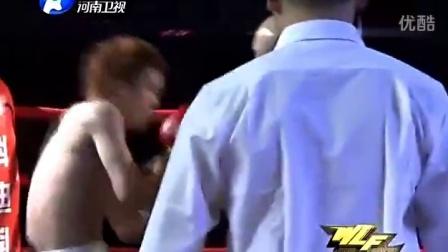 武僧一龙首战香港 一回合疯狂KO日本拳王