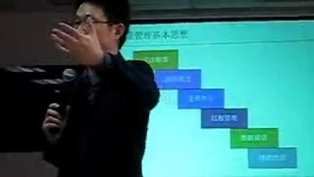 2013年 刘铭老师 青岛海信 产品研发质量管理 培训现场 视频