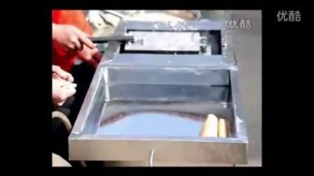 鄂州多功能蛋卷机 冰淇淋鸡蛋卷机器 燃气六面旋转蛋卷机2