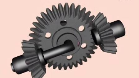 机械设计基础 第2版 教学视频素材 第17章 12直齿圆锥齿轮周转轮系-3