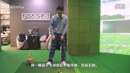 【高尔夫Plus原创教学视频】160229 脊椎角度引起的弹道过高 v2