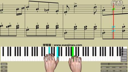 钢琴基础教程 苏格兰舞