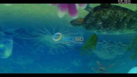 海底世界天穹投影
