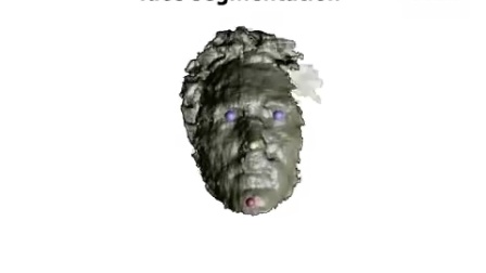 3D face scanning with kinect