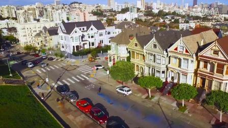 Smoke Grenade Freebording in San Francisco! in 4k (1)