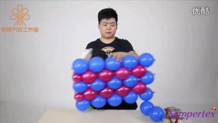 魔法气球教程玫瑰花,魔术气球玫瑰花图片,魔术气球足球教程