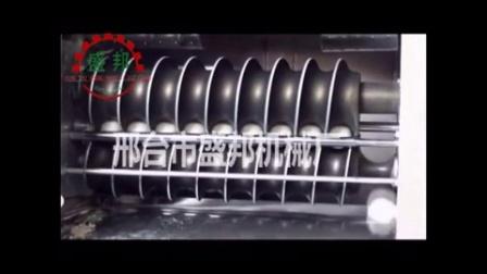 承德市电动圆馒头机试机视频 双桥区盛邦馒头机全套设备