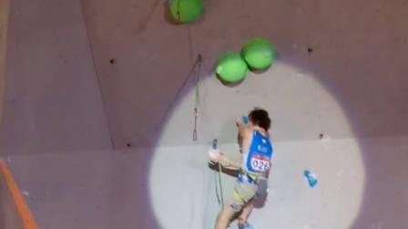 Adam Ondra 2015吴江攀岩世界杯难度决赛