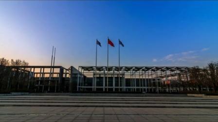 延时摄影:天津空港经济区的傍晚
