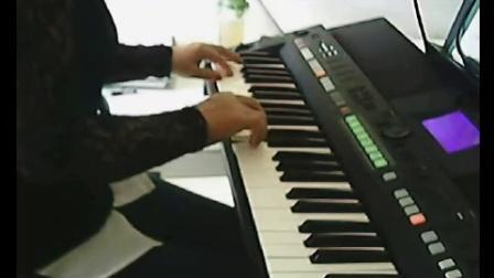 s650电子琴弹唱【山丹丹开花红艳艳 】