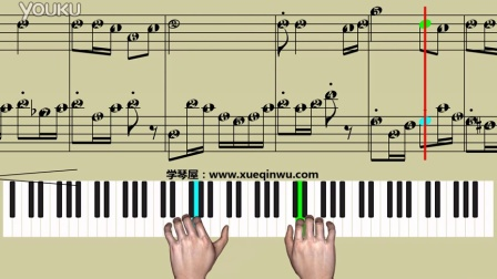 钢琴基础教程2《子弟兵和老百姓》学琴屋 钢琴教学